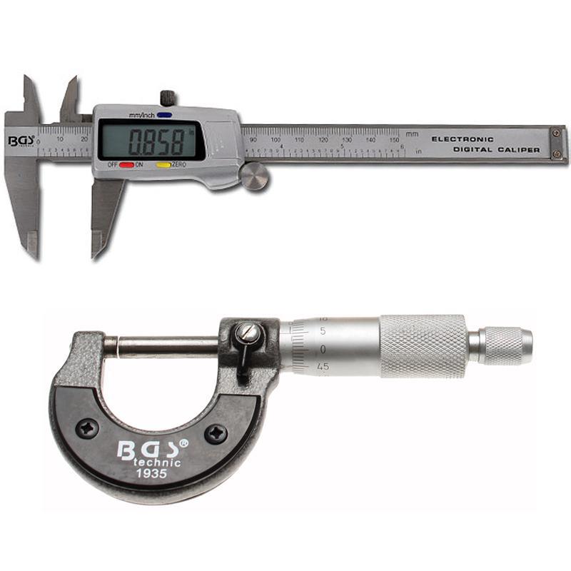 Sublere, micrometre, ceas comparator
