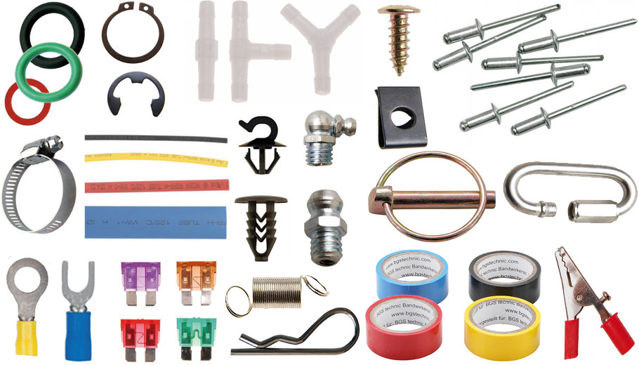 Diverse accesorii, consumabile, elemente de fixare