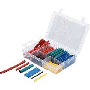 Tuburi termocontractabile, set 90 buc. colorate